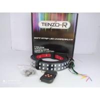 Lampu LED dashboard running Strobo RGB lampu kaca berjalan 12V 110cm