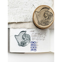 Black Milk Project Rubber Stamp - The harp