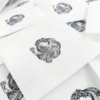 Black Milk Project Rubber Stamp - Queen