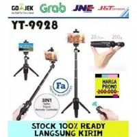 Tongsis Tripod Yunteng Bluetooth YT-9928 2 in 1