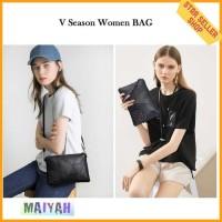 Tas Selempang cewek slempang Wanita Kulit PU sling Women Bag sling bag
