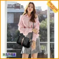 Tas Selempang slempang Wanita Kulit PU Iconic Women Sling Bag slingbag