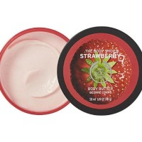 Sale Travel Size Body Butter Strawberry The Body Shop Original Lotion