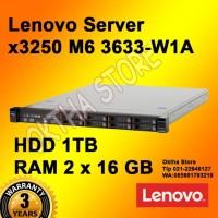 Lenovo Server System x3250 M6 - 3633W1A -1 TB -32 GB