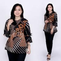 Baju Batik Wanita Atasan Batik Wanita Blouse Batik Kemeja Batik wanita