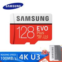 Samsung Kartu Memori TF Class10 Kapasitas 32GB/64GB/128GB Micro SD Ori - 128GB