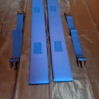 Spalk kaki 8cmx70cm- 1 pasang spalk dan tali - bidai kaki -spalk kaki
