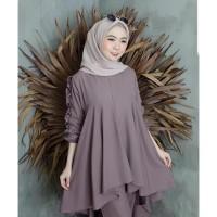 Sadewi Set Fashion Muslim Baju Setelan Wanita Termurah