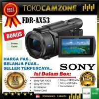 Palinglaris Sony FDR-AX53 4K Ultra HD Handycam Camcorder Hargahemat