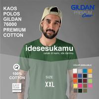 KAOS POLOS GILDAN PREMIUM 76000 ORIGINAL slim fit XXL