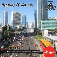 Tiket Promo Belitung - Jakarta PP