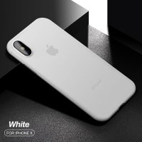 Palingmurah CAFELE Ultra Thin Case - iPhone X Free Tempered Glass -