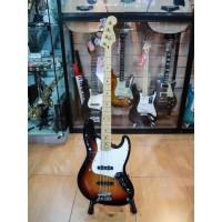 Fender Player Jazz Bass Guitar Maple Fretboard 3 Tone Sunburst