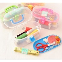 MINI SEWING KIT / SEWING KIT BOX / PERALATAN JAHIT RUMAH TANGGA