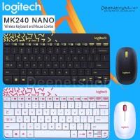 Keyboard Wireless Combo Logitech MK240 Nano Keyboard Mouse