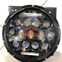 LAMPU DEPAN LED DAYMAKER 7 INCHI 13 MATA