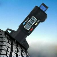 Alat Ukur Ketebalan Ban Digital 0-25 mm Tire Tread Depth Gauge
