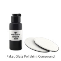 Paket Poles Kaca Baret Epic Glass Polishing Compound 70ml