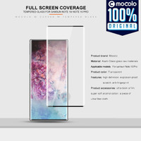 Tempered Glass Samsung Galaxy Note 10 Plus / 10 Mocolo 3D Full Screen