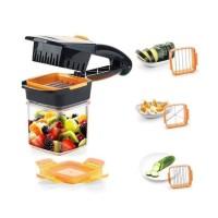 Pisau Nicer 5in1 Pisau Pemotong Buah Sayuran Alat Potong Alat Dapur