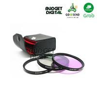 Filter 40.5mm KIT UV+CPL+FLD +BAG A5000 A5100 A6000 A6300