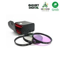 Filter UV + CPL + FLD KIT 67mm - Berkualitas - Filter Kamera