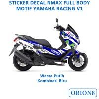 Sticker Motor Decal Full body Yamaha Nmax Motif Racing Versi 1