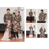 Baju Gamis Batik Kebaya Kemeja Lengan Panjang Couple Family keluarga