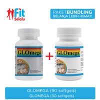 Paket Ekonomis : LifePharm Glomega 90 Softgel & LifePharm 30 Softgel