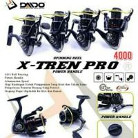 Reel ORI DAIDO X-TREN PRO 4000 (12+1BB) POWER HANDLE. JAPAN