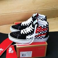 Sepatu Vans Sk8 Hi Chekerboard x David Bowie Premium BNIB