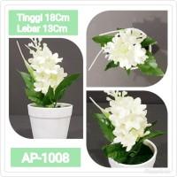 AP1008 Bunga Plastik Pajangan - Bunga Palsu Pajangan A812
