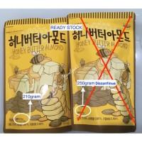 Honey Butter Almond Korea (250gram) - Tom's Farm