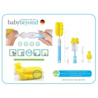 Baby beyond - BB 1036 - 6 in 1 bottle, nipple and straw brush