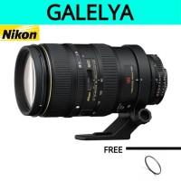 Nikon Zoom-NIKKOR 80-400mm f/4.5-5.6 VR D AF A/M ED Lens