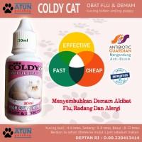 Obat Flu Kucing Pilek COLDY CAT Aman Untuk Kitten