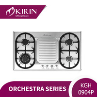 KIRIN ORCHESTRA 90CM 4 TUNGKU-LPG STAINLESS STEEL