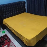 Ranjang Spring Bed Pillow Top size Queen 160x200 Fullset merk Champion
