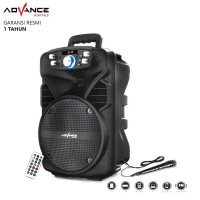 Speaker Bluetooth Advance H801n Speaker Portable with Mic