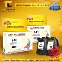 Compatible Cartridge Canon PG740 + CL741 PG 740 + CL 741 1 Set recycle