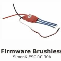 30 Amp Simonk 30A Brushless ESC firmware w/ 5V 3A UBEC Quad Multirotor