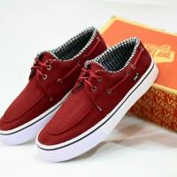 Sepatu pria casual santai vans zapato cowok terlaris murah import