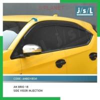SPlanet JSL Talang Air All New Brio 2018 Side Visor Injection
