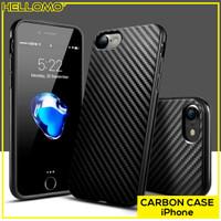 Carbon Case Casing Black iPhone 5 5S SE 6 6S 6+ 6S+ 7 7+ 8 8+ X