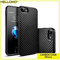 Carbon Case iPhone / Casing Black iPhone X / XS / XR / XS MAX