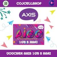 Voucher Axis 1GB 5 Hari