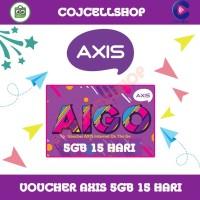 Voucher Axis 5gb 15 Hari