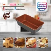 Cetakan kue Loaf Pan 25x15x7.4 cm Copper PREMIUM