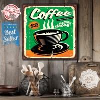 coffe | hiasan | gantungan dinding | poster |kayu | wall decor