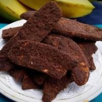 Kripik pisang coklat